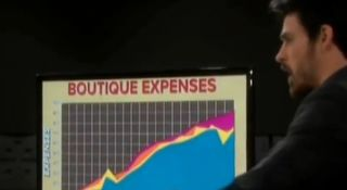Oh no boutique expenses are through the roof in 1984