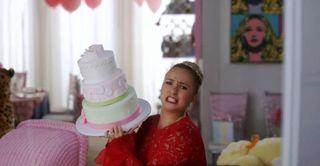 I brought you a nice cake!