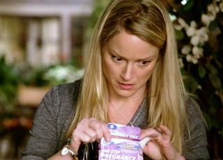 The only pregnancy-test-in-the-trash trope